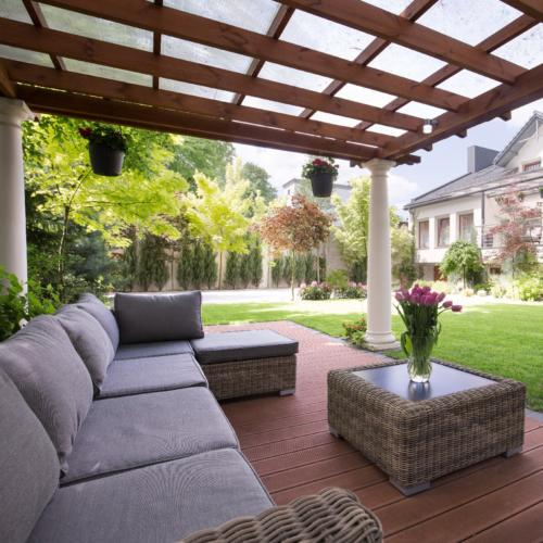 Luxury garden furniture